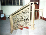 Maley Laser Processing Arch Church Railing