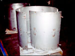 Maley Laser Processing Steel Drum